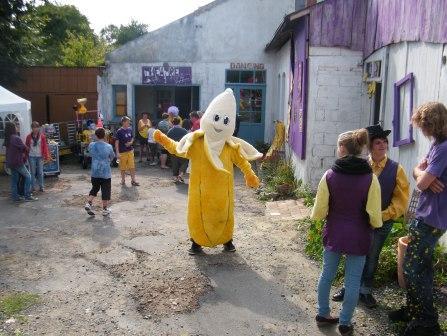 La banana a la marche tranquille