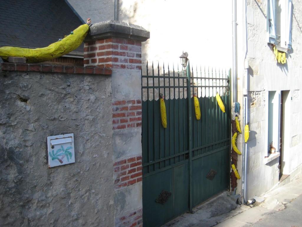 Bananes murales !