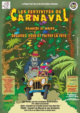 La carnaval de châtellerault 2012