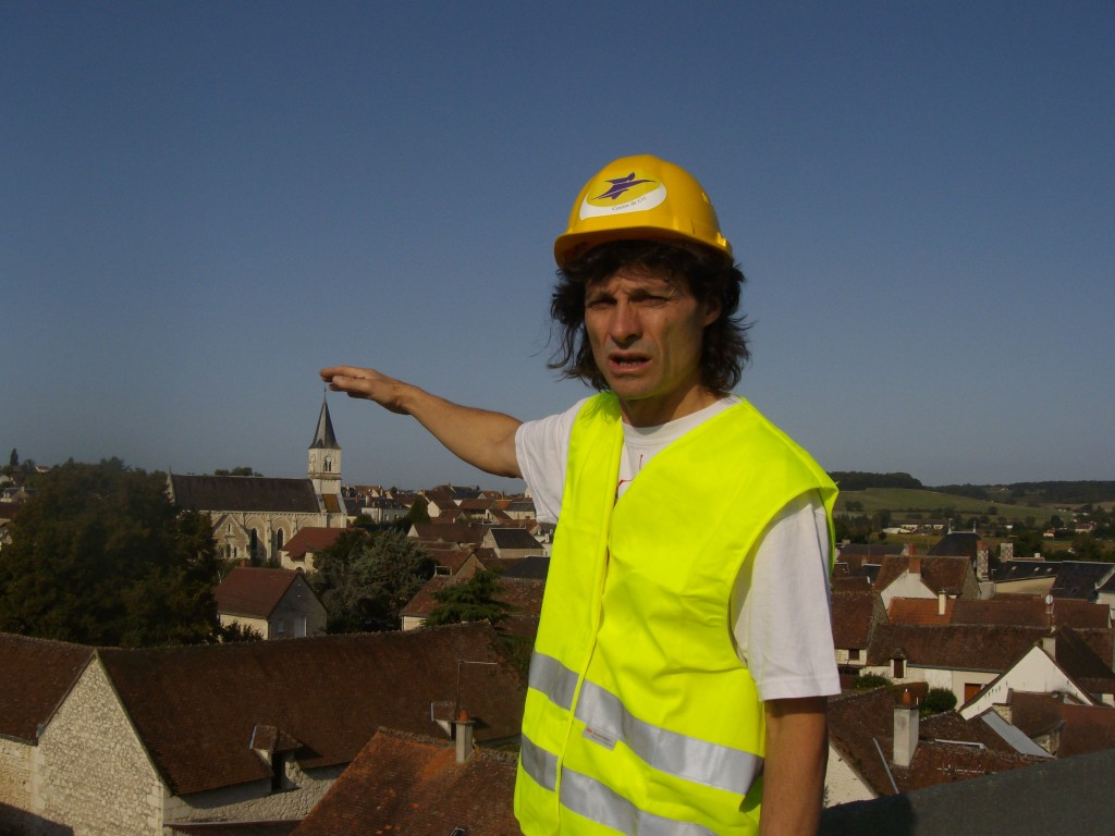 le batteleur du village