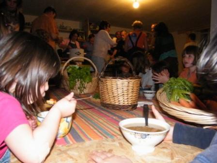 Légumes, bols, soupes, enfants, adultes : soirée contes