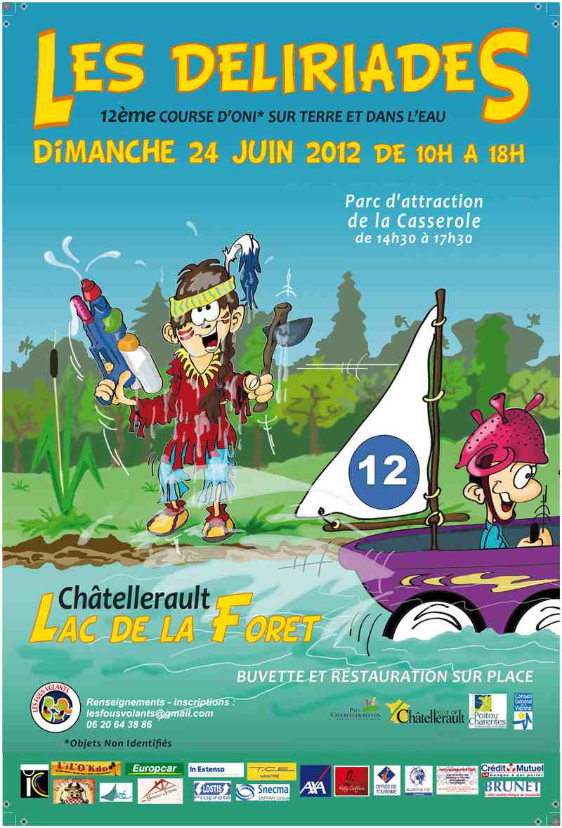 un dimanche de dlires : les dliriades 2012
