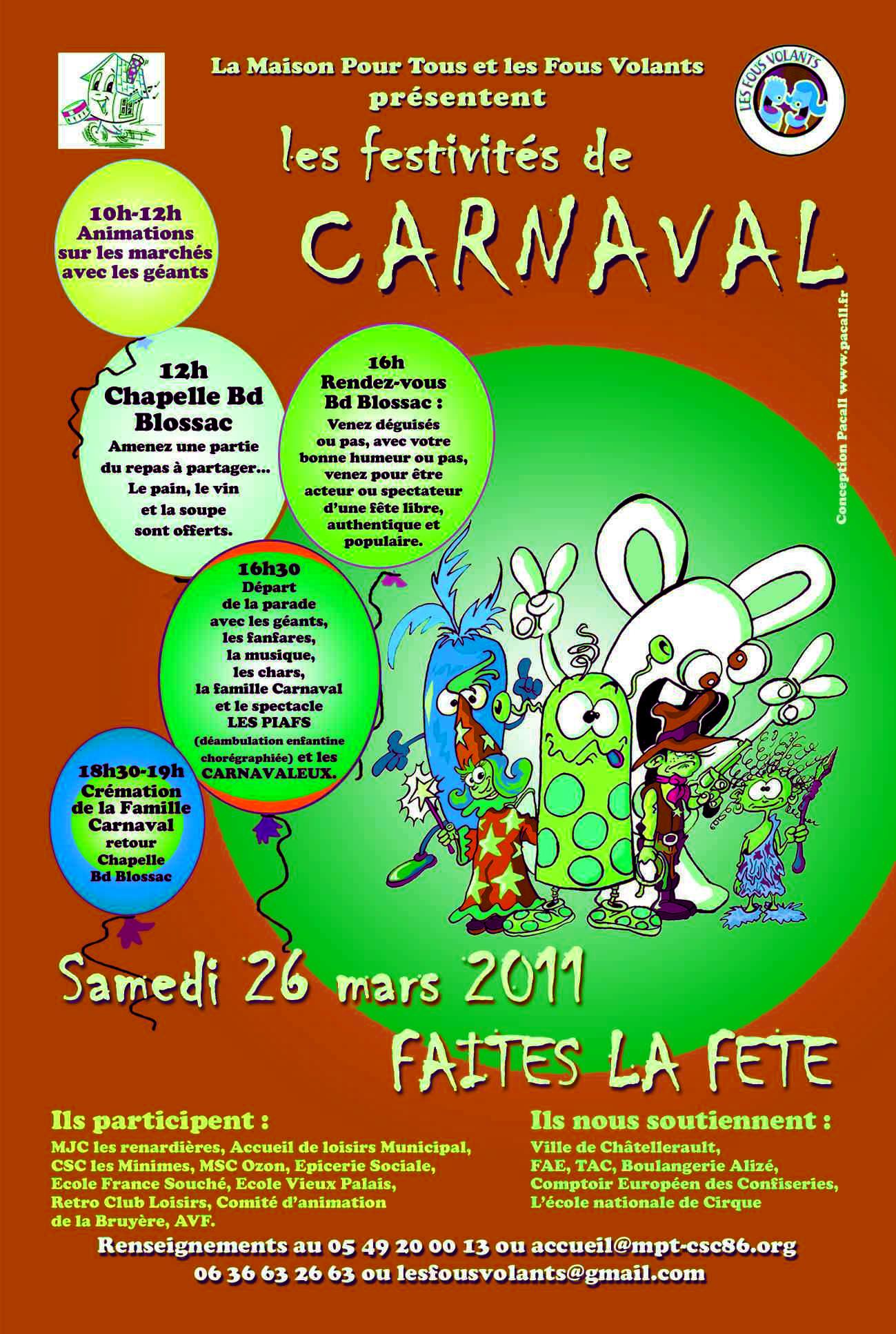 Les festivités de Carnaval