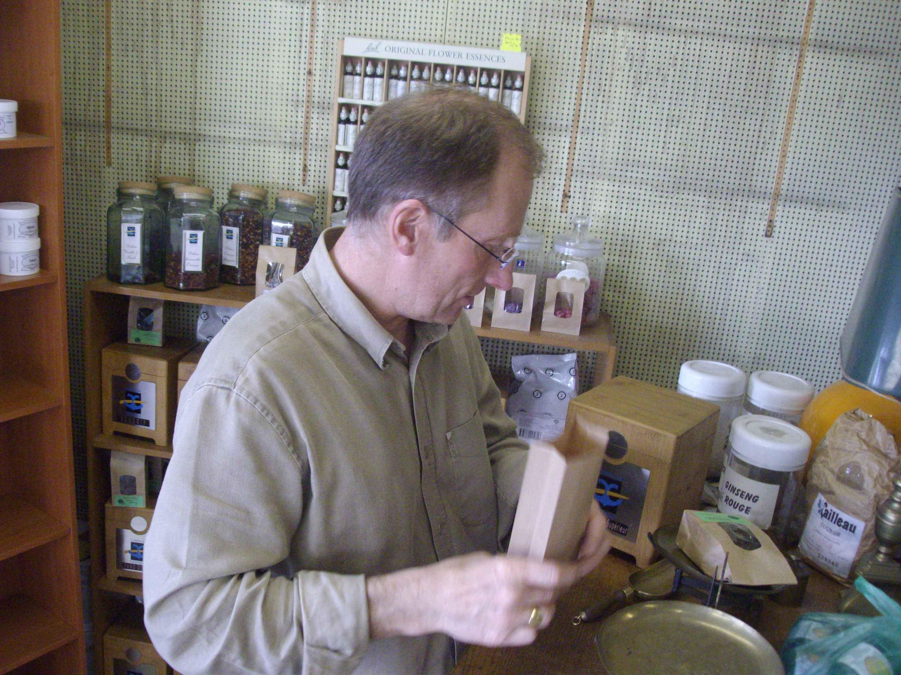 JF Cavallier Herboriste à Châtellerault