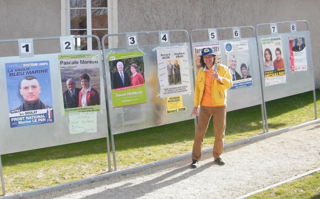 Candidat virtuel mais réel en campagne