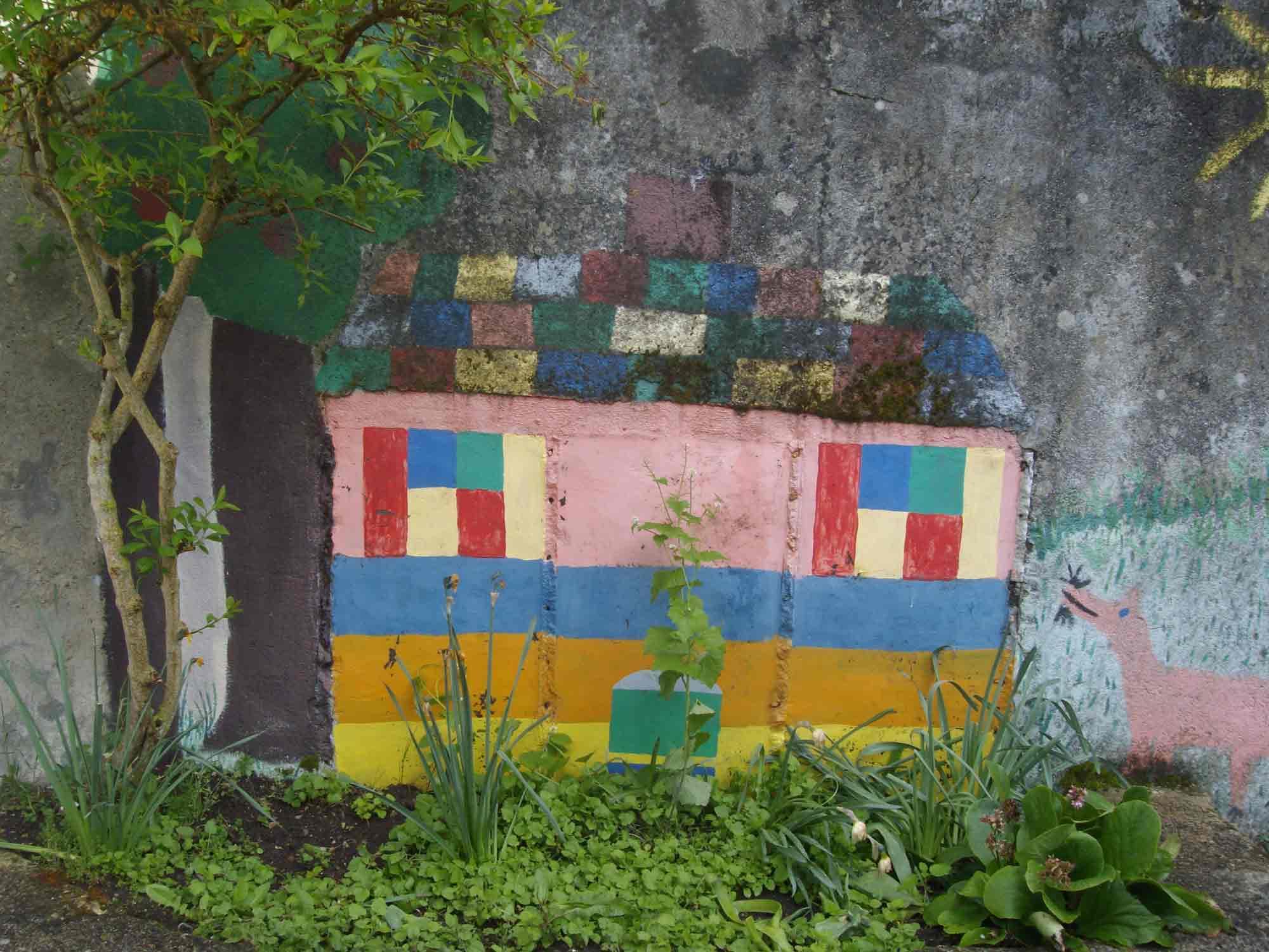Fresque des Minos Petit Pressigny