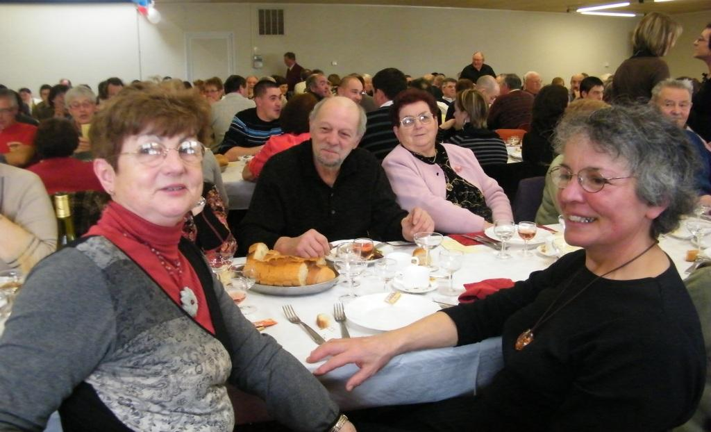 Pierre, Dany, Jacqueline et les autres. Les convives du Banquet.